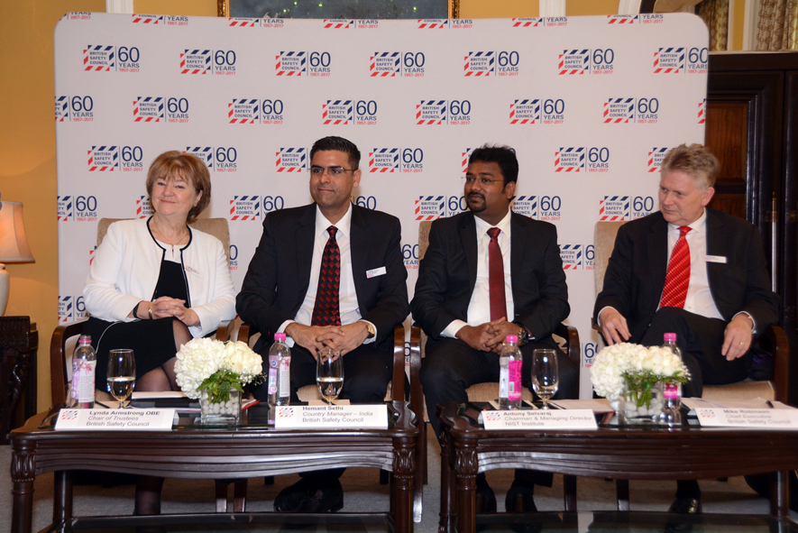 Pic 1 - British Safety Council opens office in India, press conference-small.jpg