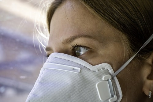 Woman Wearing An FFFP3 Face Mask Istock MED